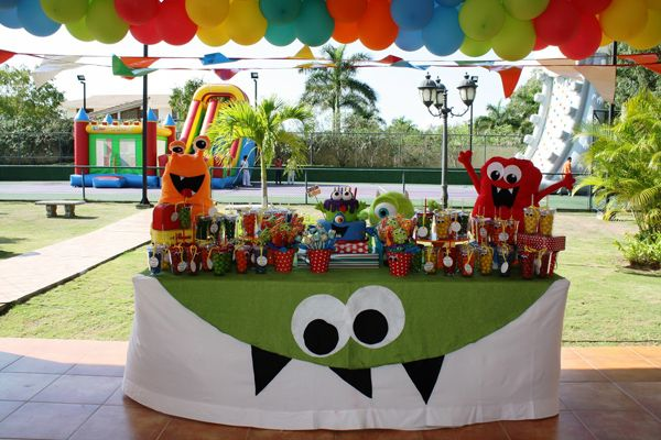 Monster Themed Birthday Party via Karas Party Ideas | KarasPartyIdeas.com #monster #birthday #party (25)
