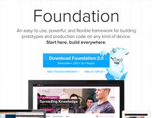 Foundation is an easy to use framework for building prototypes and production code on any kind of device (in other words, responsive design). http://foundation.zurb.com/
