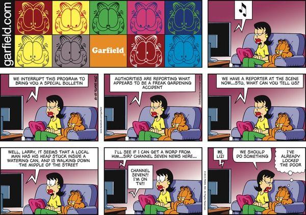 Garfield Comic Strip on GoComics.com