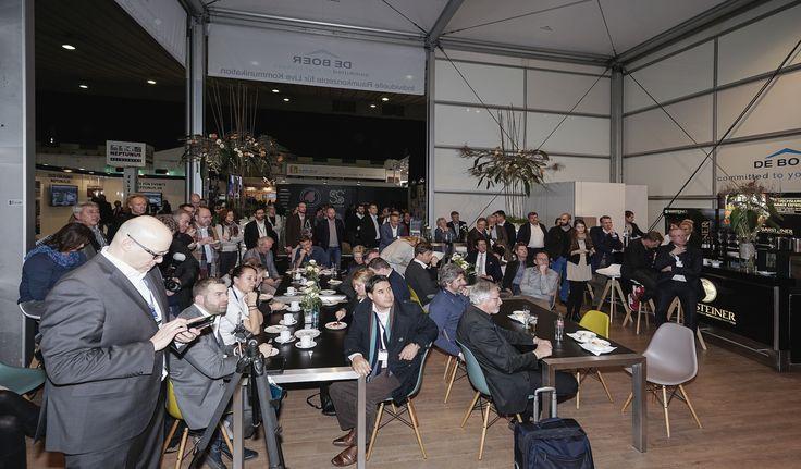 Auf diesen Fachtalk waren alle Gäste sehr gespannt. Via Twitter konnte live mitverfolgt und mitdiskutiert werden. #BOE16
