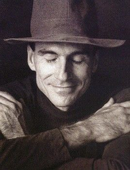 James Taylor 'Deep greens and blues are the colors I choose, won't you let me go down in my dreams?'