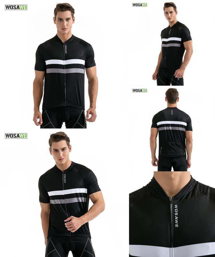 [Visit to Buy] WOSAWE New 2017 Pro Cycling Jersey Mtb Bicycle Clothing Bike Wear Clothes Short Maillot Roupa Ropa De Ciclismo T T Shirt #Advertisement