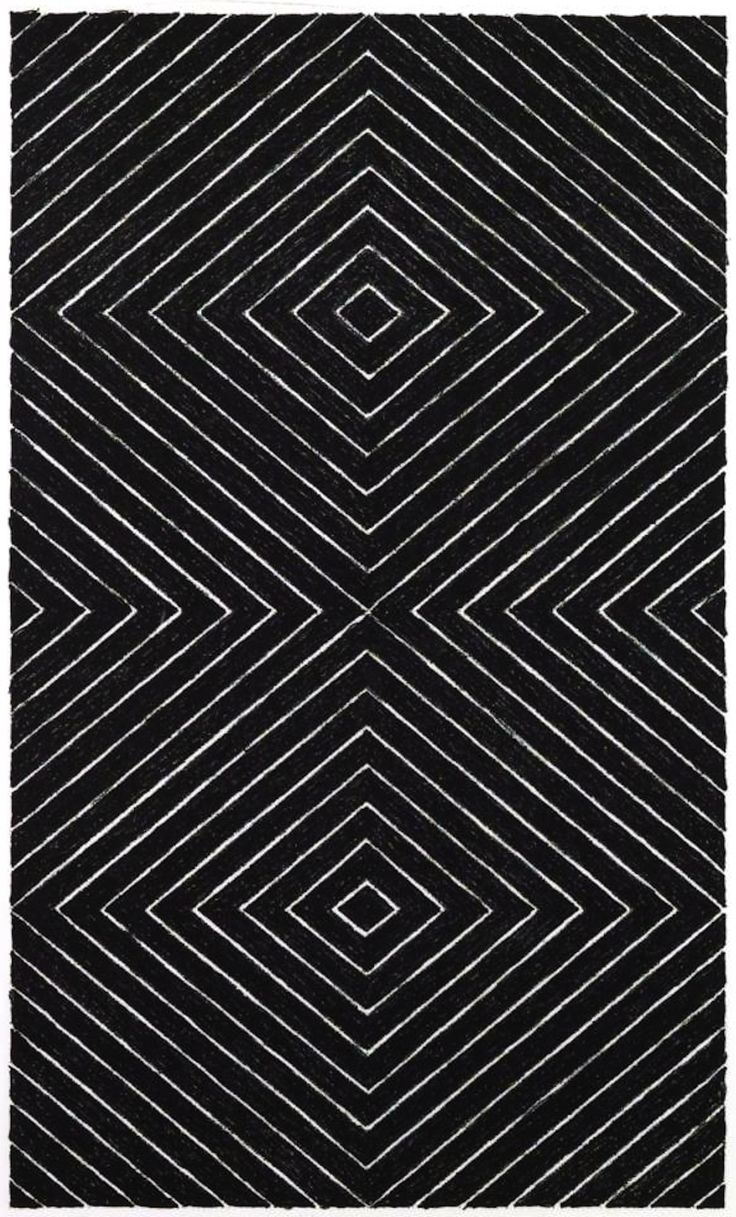 Frank Stella: Black Series,  Lithograph  1967
