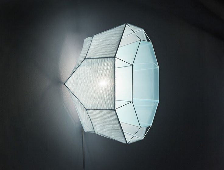 Faceted Lamps Mimic the Molecular Structure of Crystals