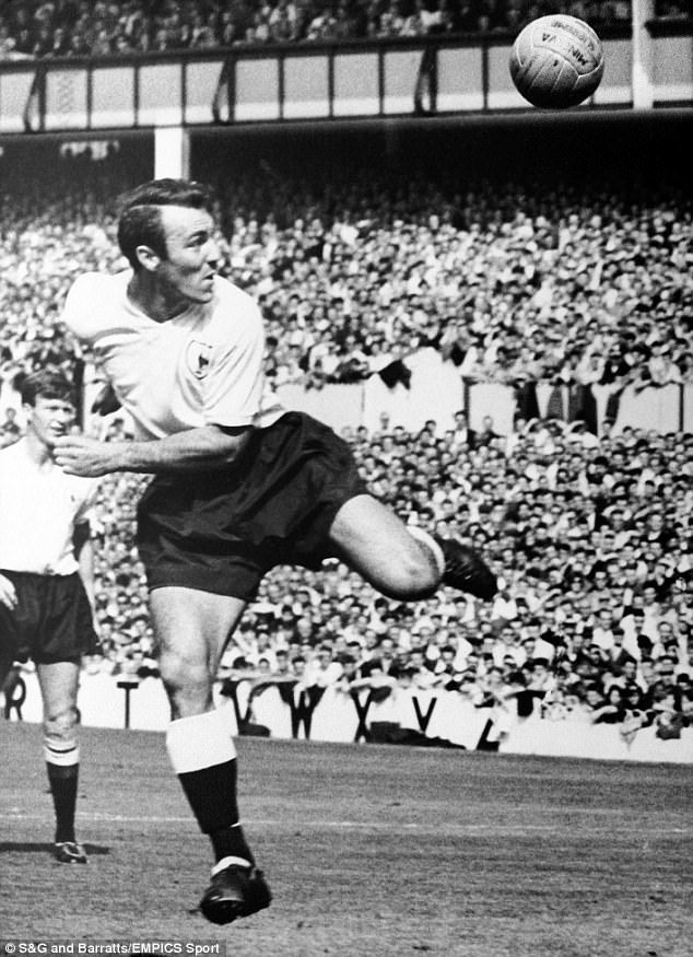 Jimmy Greaves' son Danny says his father felt privileged to play at White Hart Lane