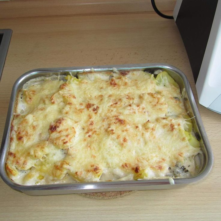 Rezept Kartoffel-Gemüse-Auflauf mit Käsesauce von feuerkind7 - Rezept der Kategorie Hauptgerichte mit Gemüse