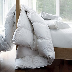 Alberta™ Supersize or Oversized Baffled Goose Down Comforter / Duvet - traditional - duvet covers - The Company Store