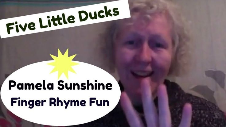 Five LIttle Ducks, a finger rhyme for children. Great for preschool teacher and kindergarten children. ECE music video of an action song/finger rhyme