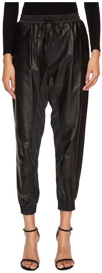 Sportmax Umbro Leather Joggers Women's Clothing