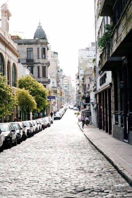 Buenos Aires Argentina Calles Defensa.. saudade