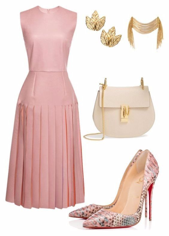 STYLE AND FASHION IN CLOTHING DELICATE COLOR COMBINATIONS #shoes  #bag  #fashion