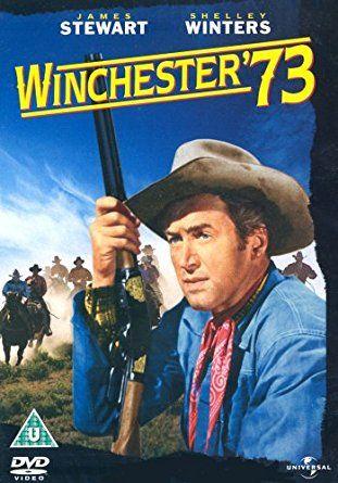 """http://mezquita.uco.es/record=b1886121~S6*spi """"Winchester '73"""". Dos jinetes llegan a Dodge City persiguiendo a un hombre. Es el Día de la Independencia, y la gente se arremolina en torno al premio del concurso de tiro, un rifle único: el Winchester 73. Lin McAdam, uno de los forasteros, gana el concurso, pero uno de sus contrincantes se lo roba y huye. El rifle va pasando de mano en mano: de un traficante de armas a un jefe indio y después a un forajido."""