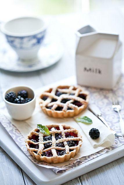 Fresh Berries Tarts by tartelette