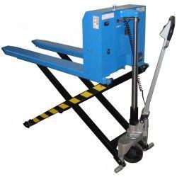 Transpalette haute levée électrique 1000 kg