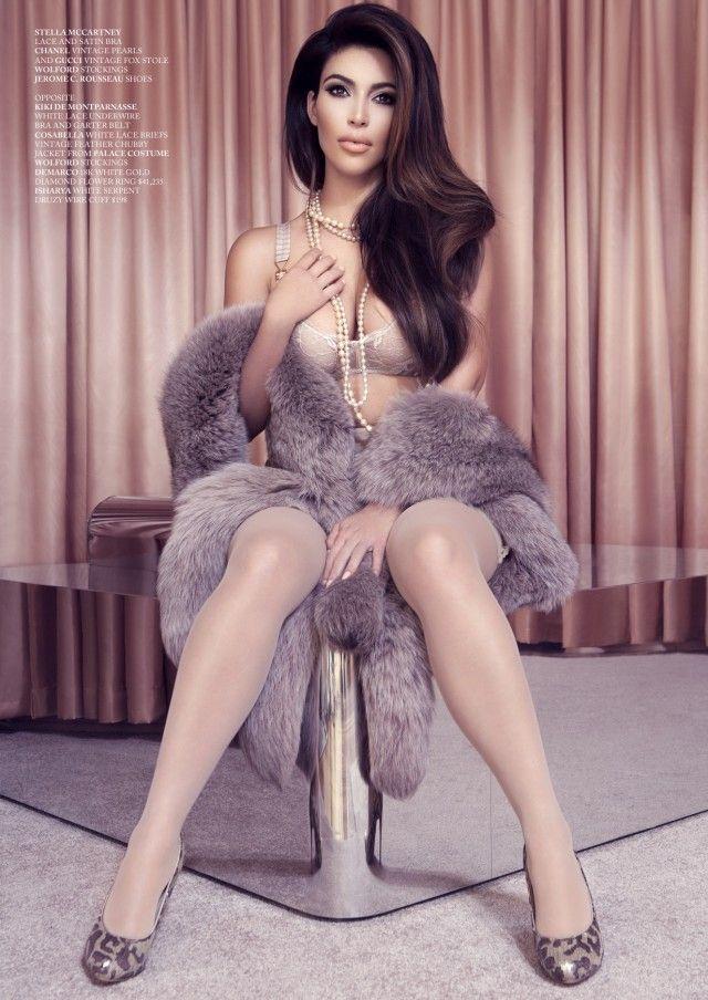 Kim Kardashian Factice Lingerie