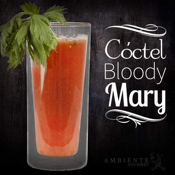 ¿Conoces la receta de este famoso cóctel? #bloodymary