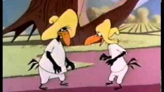 Merrie Melodies - Two Crows from Tacos (1956), via YouTube.