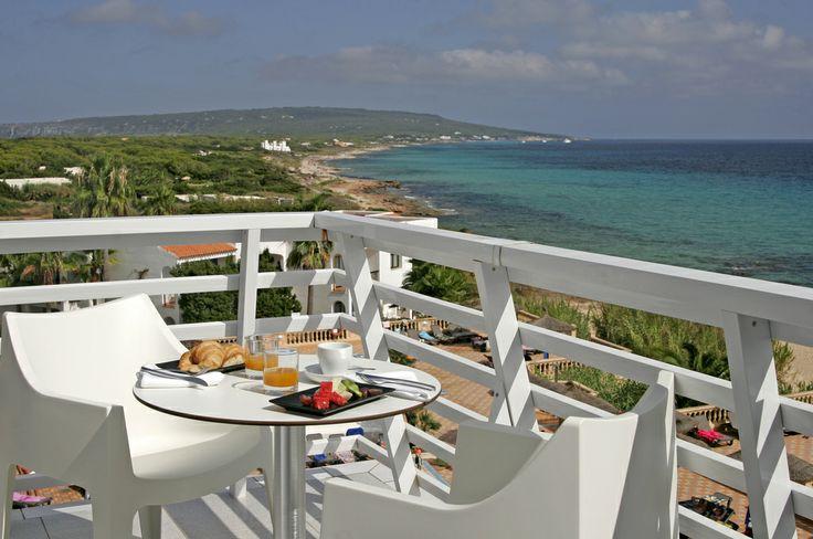 Insotel Hotel Formentera Playa. Junior Suite Lux Sea View- Terraza.