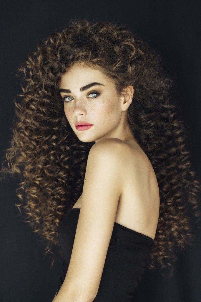 perm hairstyles spiral curls long hair
