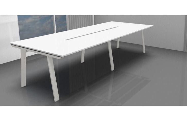 Table de Réunion / Conférence TAKE-OFF Design Perin & Topan Bralco - 6 Pieds - 280 x 124 cm