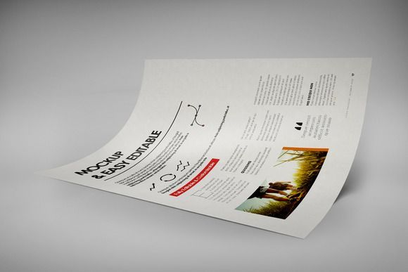 Best A4 Creative Flyer Mock-Up 9