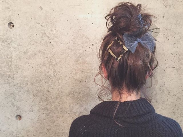 * * odango ♡ hair * * #ヘアアレンジ #コーデ #浜松市 #マリhair