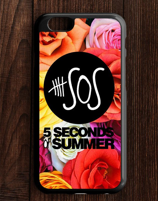 5 Second Of Summer Flower Roses iPhone 6   6S Case