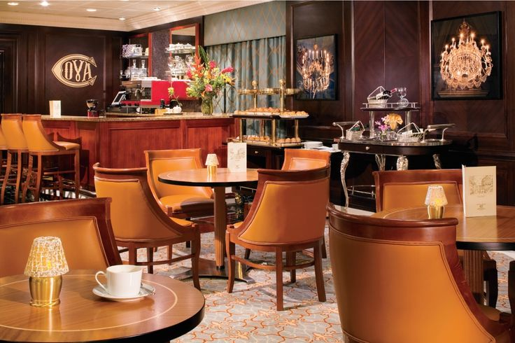 How about tea at the Cova Cafe?   #Azamara #Cruise #LuxuryTravel