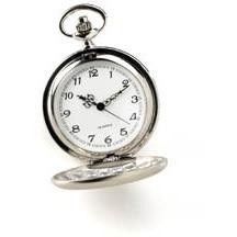 Personalized Engraved High Polish Pocket Watch