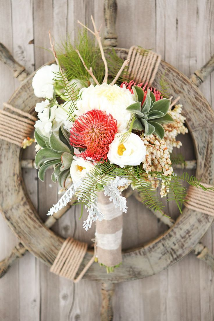 Styled Shoot: Nautical Wedding Ideas by Design Loves Detail - www.theperfectpalette.com - Azure B Photography & Cherie Hogan Photography, Branches Event Floral