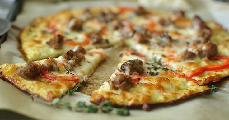 If you're trying to refrain from carbs, this cauliflower-based pizza crust lets you enjoy pizza guilt-free.