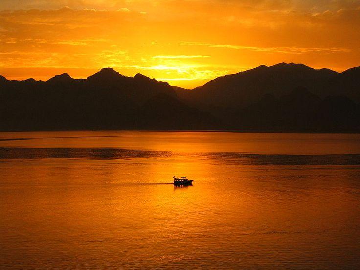 Sunset in Antalya, Turkey