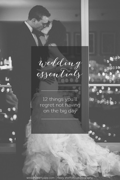 Wedding essentials: 12 things you will regret not having on the big day | Wedding Party