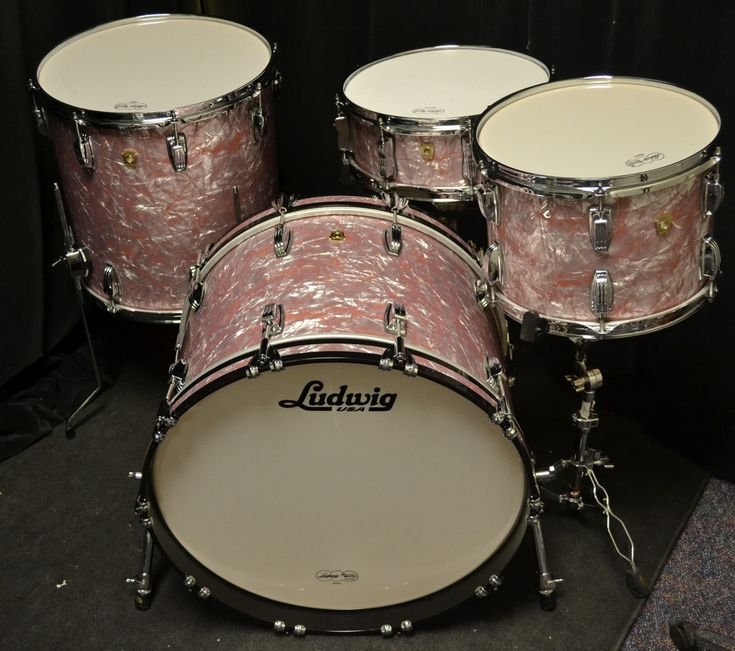 Ludwig Drums - Classic Maple - Rose Marine Pearl