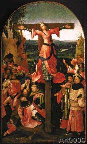 Hieronymus Bosch - Bosch / Altar of St. Julia (42,0 x 70,0 cm)