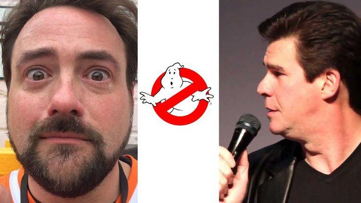 Kevin Smith & Ralph Garman Blast New Ghostbusters Trailer