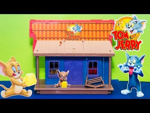 TOP 5 UK TOM AND JERRY MCDONALDS KIDS HAPPY MEAL TOYS OF 2015 UNBOXING - YouTube