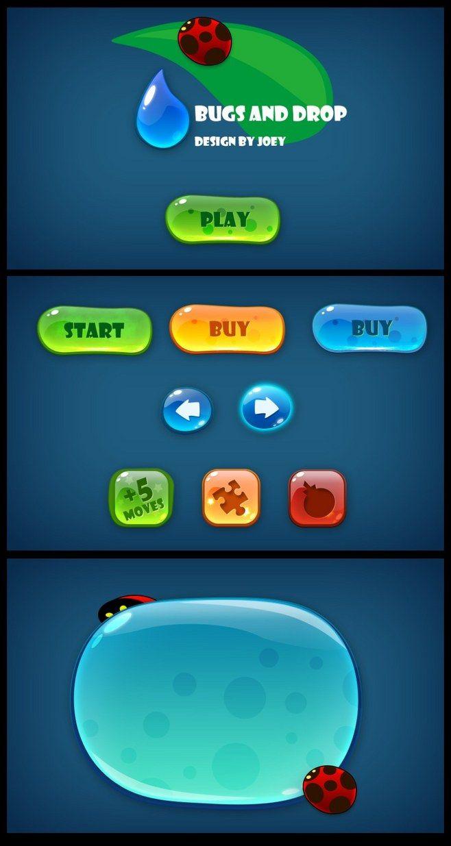 原创作品:小忙游戏Ui网络班0基础学员学...