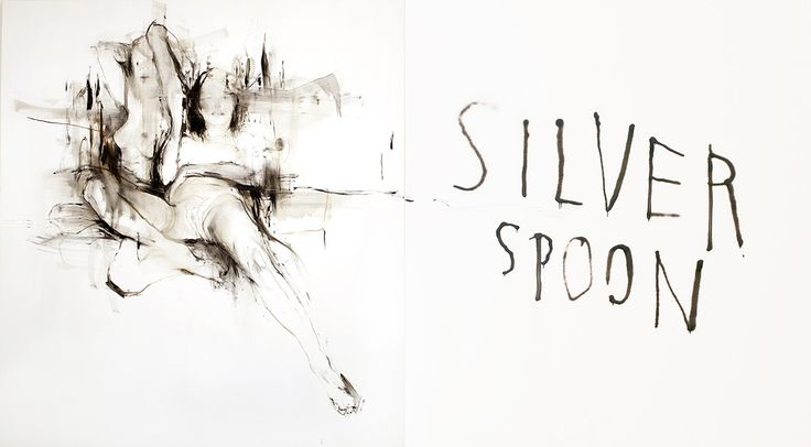 charlie isoe - Silver Spoons (Diptych)