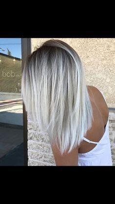 Elegante lange Haarfarbe Ideen für Blondinen