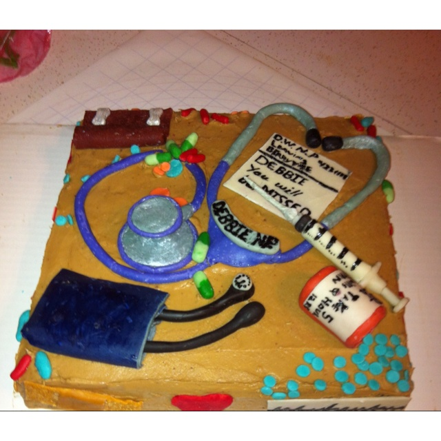what to put on a going away cake