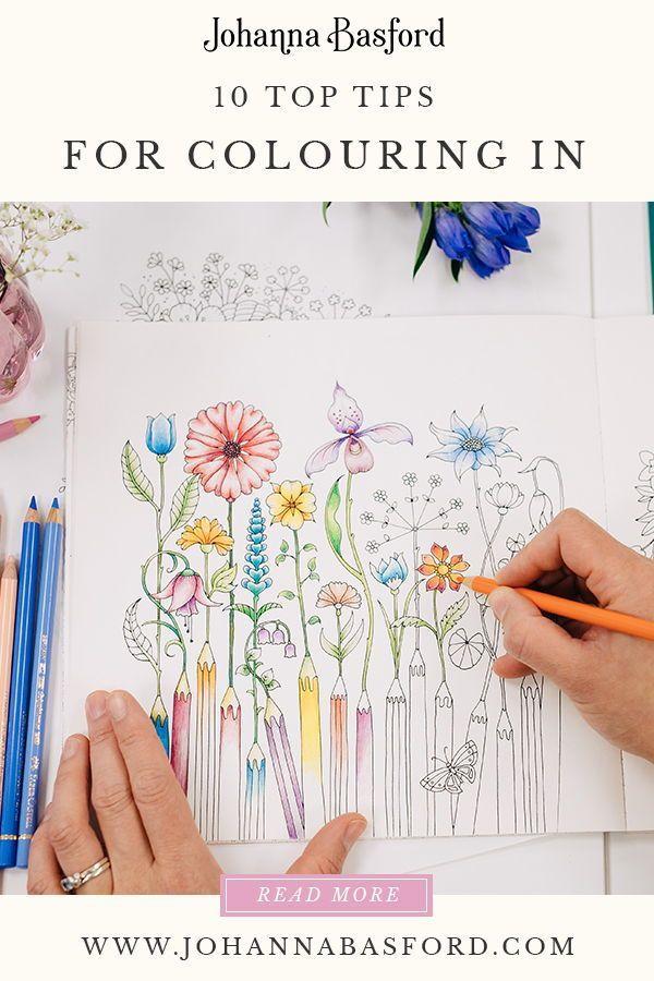 10 Core Principles Of Colouring Johanna Basford Coloring Book Art Basford Coloring Book Johanna Basford Coloring Book