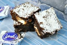york peppermint patty brownies - I keep seeing chocolate goodies today that would make chris drool!