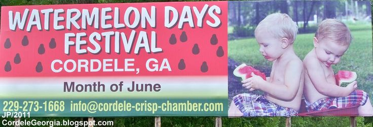 watermelons festivals | ... WATERMELON DAYS FESTIVAL CORDELE GEORGIA, JUNE 2011 Watermelon