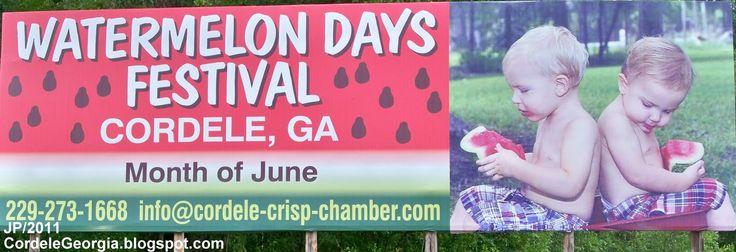 watermelons festivals | ... WATERMELON DAYS FESTIVAL CORDELE GEORGIA, JUNE 2011 Watermelon