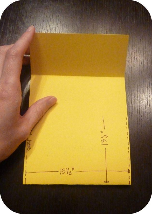 Chair pocket DIY tutorial!