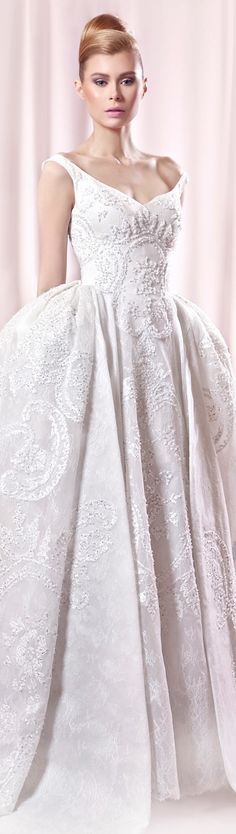 //Tarek Sinno, bridal #wedding #dress