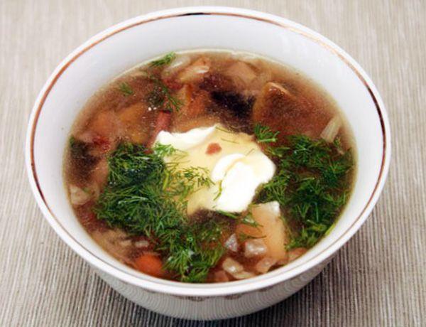 Как варить грибной суп из свежих грибов - рецепт.