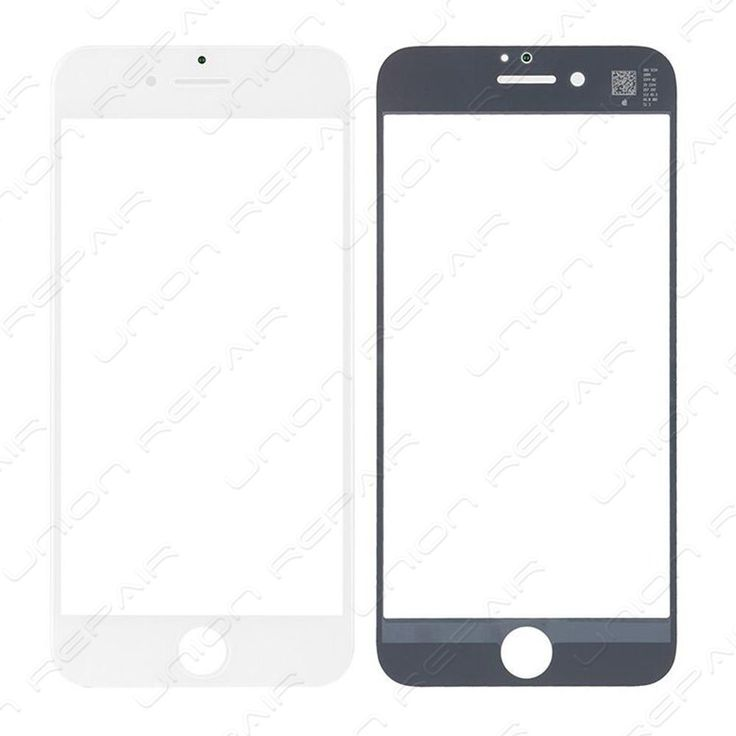 Replacement for iPhone 7 Front Glass - White    Specifications:  Color: Black  Screen Size: 4.7 inches  Material: Glass  Compatibility: iPhone 7    Features:      This iPhone 7 glass lens with frame is...