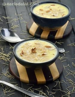 Sevaiyan ki kheer, a very easy to make sweet dish. . . . It is made with minimum…